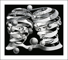 Escher Peeled Faces (Glenn Shoemake) Tags: escher sigma30mm14