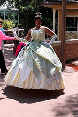 Tiana (disneylori) Tags: princess disney disneyworld characters tiana wdw waltdisneyworld magickingdom libertysquare disneyprincess disneycharacters facecharacters theprincessandthefrog meetandgreetcharacters theprincessandthefrogcharacters