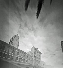 The last of old Tampa (zerotolerenc) Tags: downtown pinhole pinholecamera largeformatcamera expiredfilm wheehamx