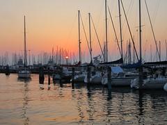 Chioggia (Venezia), tramonto sulla darsena (Valerio_D) Tags: italy italia 1001nights chioggia veneto ruby3 supershot bestcapturesaoi elitegalleryaoi ruby10 ruby15 ruby20 rubyfrontpage 2013primavera
