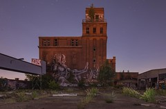 The real McCoy (Markus Lehr) Tags: longexposure berlin industry industrial nightshot decay urbandecay warehouse brewery brickbuilding nachtaufnahme langzeitbelichtung bärenquell f1dot8 markuslehr