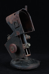 Rusty lamp 2 (Carbon Arc) Tags: light lamp unsafe dangerous rust decay research laboratory corrosion carbonarc