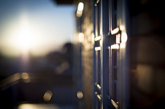 Balconomania. Sunrise (Pavel 'PAshaRome' Vavilin) Tags: urban roma asahi bokeh manualfocus urbanlife frommybalcony pentaxm primelens manuallens fastlens pentaxlens kmount japanlens radioactivelens smcpentaxm5017 pentaxm50  smcpentaxm50