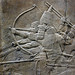 Lion Hunts of Ashurbanipal, aiming