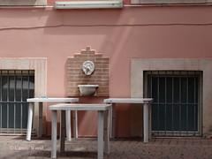 San Quintino 11 (Via) - Centro Anziani 01 (Fontaines de Rome) Tags: rome roma fountain san brunnen fuente 11 via font fountains fontana fontaine rom fuentes bron quintino fontane fontaines centroanziani viasanquintino viasanquintino11