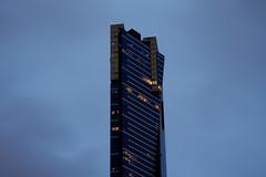 Eureka Tower (Leighton Wallis) Tags: light sunset building home architecture australia melbourne victoria southbank vic eurekatower