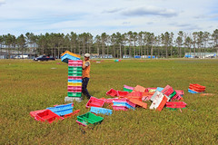 Crate stacking (Richard The Lyin' Hearted) Tags: soccer maine wyman 2012 wymanscup