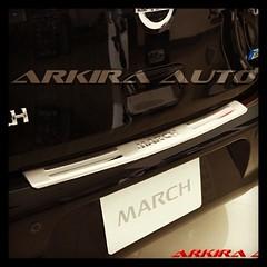 #กันรอยท้าย #นิสสัน #march #chrome #scuffplate #nissan  #stepcargo #arkira #automobile #accessory #arkira_auto #car #bodypart #racing #ประดับยนต์ #รถแข่ง #รถแต่ง #แต่งรถ #ของแต่งรถ #สคัพเพลท #สนใจติดต่อ #contact #0854146459 #0880083309 #www.arkira-auto.co
