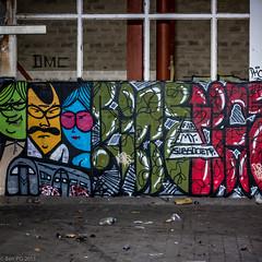 Usine de lait (Ben PG) Tags: street streetart france art graffiti pau usine sud ouest dsafecte benpg