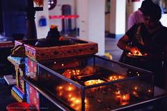 SG Temple DSCF6451 (franciscus nanang triana) Tags: travel people woman india man color temple photo singapore foto place secret hindu triana nanang franciscus fujinonxf35mmf14 fujixe1