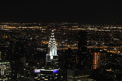 empire state building at night (Natalie Ast) Tags: new york nyc travel food ny building cute fashion cupcakes blog state treats style blogger best mexican empire