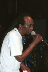 Thomas Mapfumo and The Blacks Unlimited from Zimbabwe live at the Stratford Rex London Aug 24 2001 114 (photographer695) Tags: from 2001 thomas zimbabwe aug rex stratford mapfumo