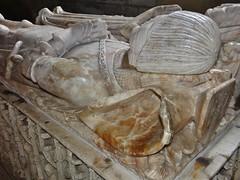 ca. 1487 - 'Sir William Gascoigne (+1487) and Margaret Percy', All Saints' Church, Harewood, Yorkshire, England (roelipilami) Tags: house english church monument st spurs george heraldry all yorkshire tomb lion saints william bull crest northumberland sword margaret dagger sir armour tabard helm effigy percy tilting gisant alabaster harewood grabmal stier harnas weepers albatre albast tabbert tasset gascoigne 1487 couter poleyn efigie wapenrusting grafbeeld beinrhre