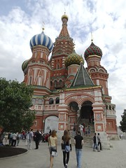 Храм Василия Блаженного (Saint Basil's Cathedral) (Letty*) Tags: travel europe russia moscow churches cathedrals etc synagogues mosques russiaandescandinavia
