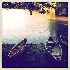 Canadian lake country series (Nick Kenrick.) Tags: lake canada october canoe vancouverisland thetislake makebeautiful hipstamatic lucasab2lens inas1982film oggl hipstography