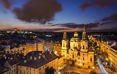 St. Nicholas Church (Marek Kijevsky) Tags: republic czech prague