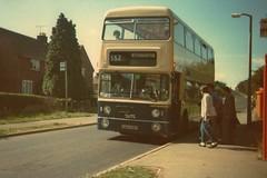 West Midlands PTE 6336 KON 336P - Daimler Fleetline (Retroscania!) Tags: bus buses publictransport westmidlands daimler fleetline mcw wombourne wmpte daimlerfleetline metrocammel