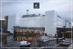 Royal Mail Sorting Office - Tufcoat Scaffold Sheeting - GKR - MACE21