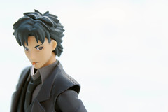 snowitsugu (Yami Usagi) Tags: winter snow anime toy fate figure figurine zero figma kiritsugu