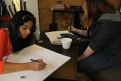ArtDay 2014 (Morinoko) Tags: art arte panama dibujo comunidad pintura eventos 2014 artday coworking colaboracin canvasstudio cascostation