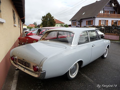 Ford Taunus 17M (fangio678) Tags: classic cars ford 10 voiture collection coche oldtimer 06 taunus 17m rallye ancienne vendanges youngtimer voituresanciennes allemande 2013 rustenhart