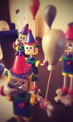 Sneak peek: the robots take this party online next week (HerArtSheLoves) Tags: balloons workinprogress kawaii sneakpeek robotparty robotsculpture geekycute handmadesculptures herartsheloves flickrandroidapp:filter=peacock mixedmediarobotsculpture robotsholdingballoons