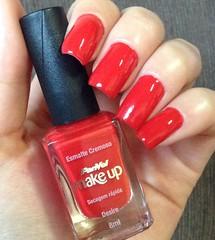 PanVel - Desire (biancacmachado__) Tags: red nail vermelho nailpolish esmaltes panvel