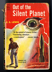 Out Of The Silent Planet (Harald Haefker) Tags: fiction eye out book fantastic silent c lewis s science planet scifi rocket sciencefiction pocket avon auge 1949 1946 the raumfahrt reprint rakete fantastisch taschenbuch of