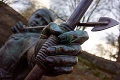 Robin Hood (mattrkeyworth) Tags: nottingham zeiss bow arrow archer legend robinhood nottinghamshire outlaw sonya7r sel35f28z sonnartfe2835