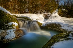 Marmites de Gants #1 (#Charlie Didier Bonnette Photographies) Tags: longexposure blue france water canon ga french eos waterfall wideangle didier uga tamron cascade waterscape ain 1024 uwa wideanglelens rhonealpes ultrawideangle poselongue bonnette tamron1024mm marmitesdegants 7ood didierbonnettephotographies canoneos7ood