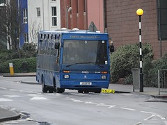 Tantivy 8 (Coco the Jerzee Busman) Tags: uk blue bus islands coach camo renault cannon jersey swift dennis tours dart channel leyland lcb plaxton tantivy