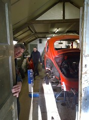 Welcome to the shed where the magic happens (Ronald_H) Tags: vw bug mexico nokia beetle jeans 1983 1020 henk mexiko kfer fusca restauration 2015 vocho lumia 15k deenen jn78jz