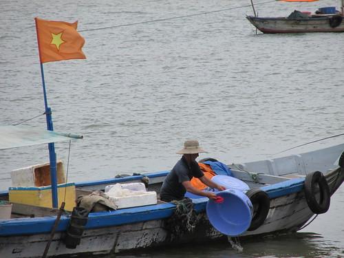Pêcheur, Vietnam