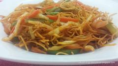 Chinese Bhel (kushigalu) Tags: food cooking foodporn recipes indochinese indan
