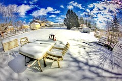 IMG_1697.JPG (Jamie Smed) Tags: 2015 app iphoneedit snapseed handyphoto jamiesmed geotagged geotag fisheye canon eos dslr 500d t1i rebel sky snow trees prime lens fixed skies blue manual focus facebook weather wide angle rokinon hamiltoncounty cincinnati ohio midwest february clouds winter clermontcounty queencity kentucky
