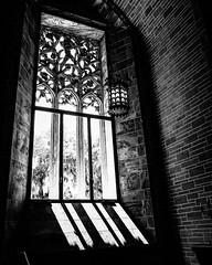 Inside Bok Tower. (pmpiasecki) Tags: blackandwhite architecture interior gothic ricohgr