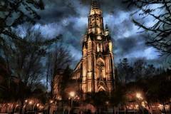 Catedral Donostia (antonio-gonzalez) Tags: church photoshop cathedral catedral paisaje sansebastian euskadi basquecountry paisvasco donostia d80 nikond80 angovi