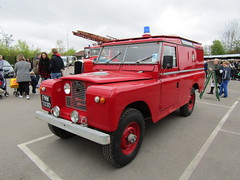 FMW 703D (markkirk85) Tags: ex fire day iii engine rover land series service emergency wiltshire appliance brigade brooklands 2016 703d fmw fmw703d