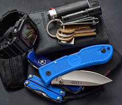 EDC (ma_ba) Tags: leatherman keys day watch knife dump casio every stuff flashlight knives pocket edc gadgets folder carry folding compact gshock bic dozier penknife kabar ps4 n victoriniox scyzoryk mulitool