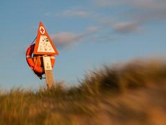Rescue (Stokholm2007) Tags: ocean sea rescue beach sand lifeline