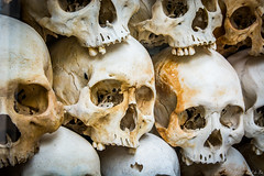 PPB_7243 (PeSoPhoto) Tags: skulls rouge nikon asia cambodia khmer killing pot xp bones fields ek dictator phnom massgraves penh pol dictatorship humanremains khmerrouge polpot 2016 massgrave atrocity choengek choeng d7100