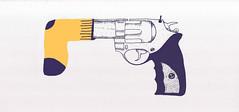 Socks over Guns (http://www.donnyvdvelden.com/) Tags: socks illustration peace guns illustrator weapons illustrationaday