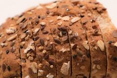 Slices (Geoff Blondahl) Tags: bread nikon highkey grains 500 slices project365 sooc d810