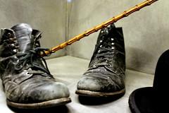 icons (overthemoon) Tags: hat museum schweiz switzerland shoes suisse walkingstick charlot studios svizzera tramp charliechaplin vaud romandie silentmovies corsiersurvevey chaplinsworld manoirduban