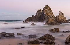 Camel Rock (Rambo2100) Tags: ocean beach water rock landscape surf australia nsw newsouthwales hdr gainsborough bermagui camelrock narooma sapphirecoast rambo2100