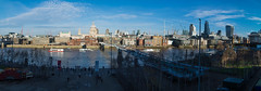 Panoramica TATE (D.Rizza) Tags: city bridge blue winter light england sky panorama sun cold london water st thames museum architecture river paul riverside cathedral stpaul panoramic millennium bankside arup
