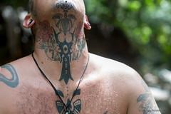 Iban Tattoo in Nanga Mejong, Sarawak - Borneo (P_mod) Tags: tattoo ink sarawak borneo iban pmod ibantattoo