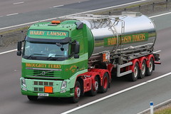 SP13BKY - Hary Lawson (TT TRUCK PHOTOS) Tags: volvo harry tt fh lawson a74m greenhillstairs