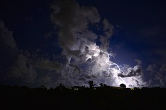 Lightning on the cuban sea (Antonio Cinotti ) Tags: storm latinamerica night nikon cuba lightning fulmine d7100 nikon1685 nikond7100