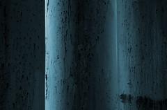 Three Pillars (Kristian Francke) Tags: old urban canada tree abandoned composition concrete bc pentax columbia plaster british minimalism pillars tamron minimalist
